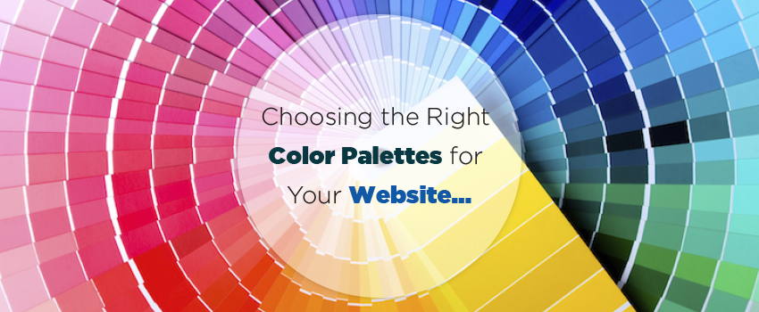 Coose rightcolor patter for website